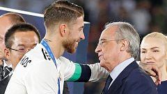 Bronca entre Sergio Ramos y Florentino Pérez tras la eliminación en Champions
