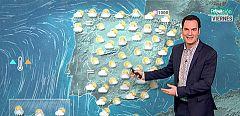 Lluvias débiles este viernes en el Cantábrico, Pirineo y Andalucía que remitirán por la tarde