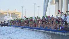 Triatlón - ITU World Series 2019 Carrera Élite Femenina Sprint Prueba Abu Dhabi (Emiratos Árabes)