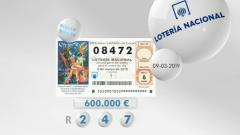 Lotería viajera - 09/02/19