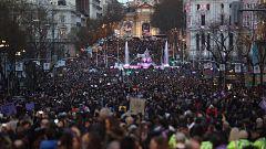 El movimiento feminista inunda las calles de España