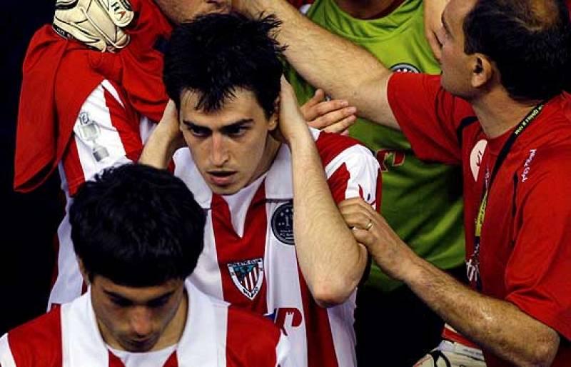 El Athletic de Bilbao ha tenido que conformarse con las medallas de consolación tras haber perdido la final.
