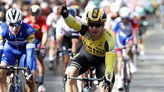Groenewegen se lleva al 'sprint' la primera etapa de la París-Niza