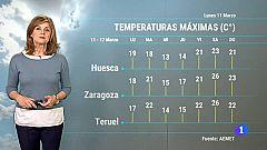 El tiempo en Aragón-11/03/19