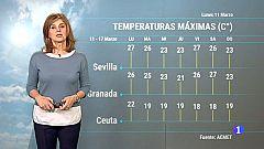 El tiempo en Andalucía - 11/3/2019
