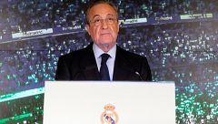 """Florentino Pérez: """"La pasión de Zidane por el Real Madrid le vuelve a unir a nuestro destino"""""""