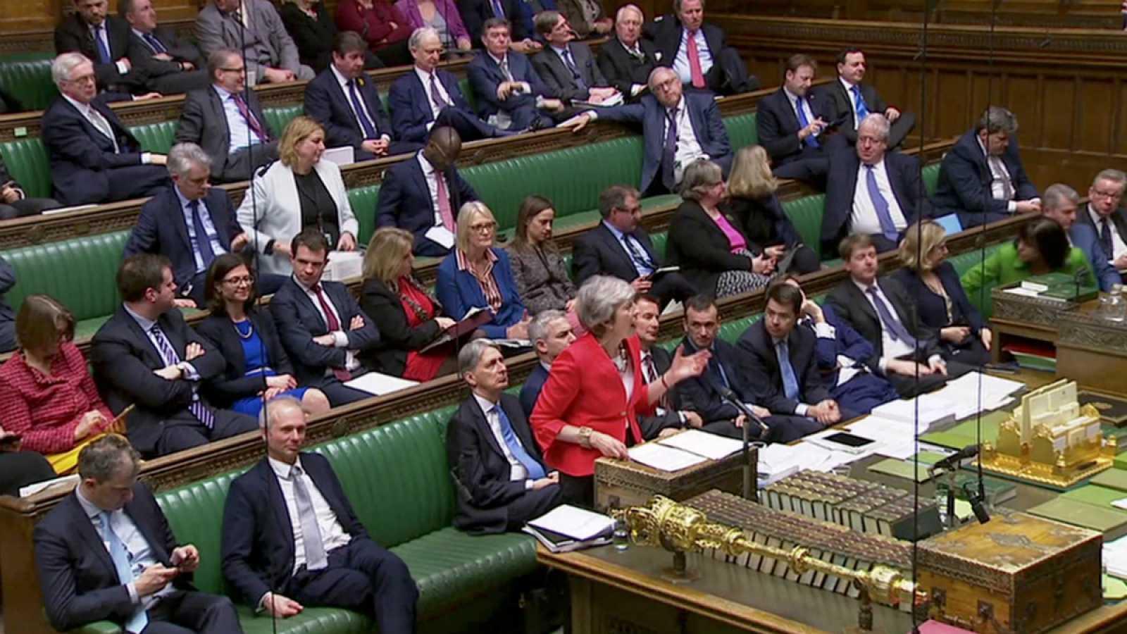"""El Parlamento británico vota un nuevo acuerdo sobre el """"Brexit"""" tras acordar con la UE la salvaguarda noirlandesa"""