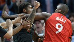 Ibaka vuelve a meterse en peleas