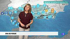 El tiempo en Andalucía - 12/3/2019