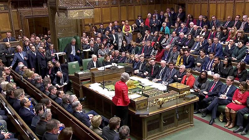 El Parlamento británico rechaza definitivamente el acuerdo del 'Brexit'