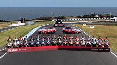 Los pilotos de Superbike, listos para la Ronda de Tailandia