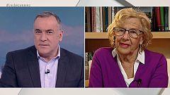 Los desayunos de TVE - Manuela Carmena, alcaldesa de Madrid, y Gaspar Llamazares, candidato  a la presidencia de Gobierno por Actúa