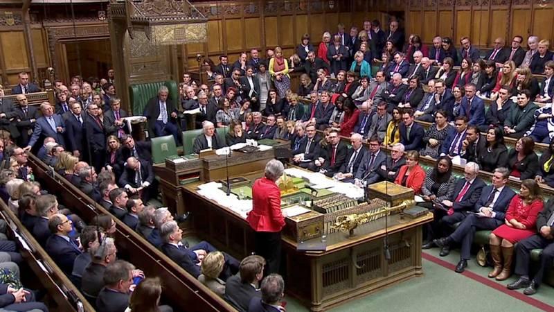 El Parlamento británico tumba definitivamente el acuerdo del 'Brexit' por una amplia mayoría