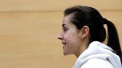 """Carolina Marín: """"Trabajo para volver como mejor jugadora"""""""