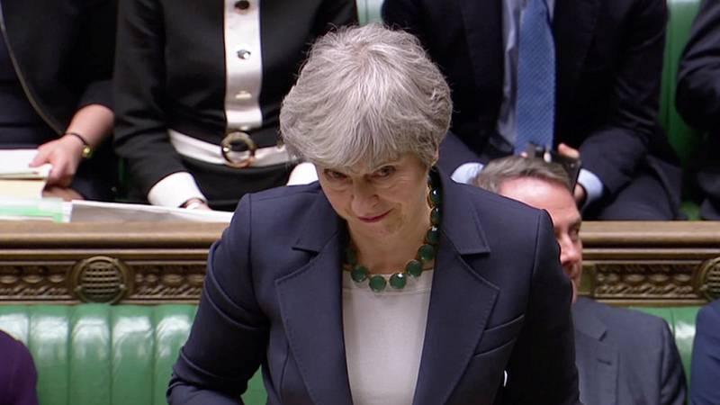 El Parlamento británico descarta un 'Brexit' sin acuerdo