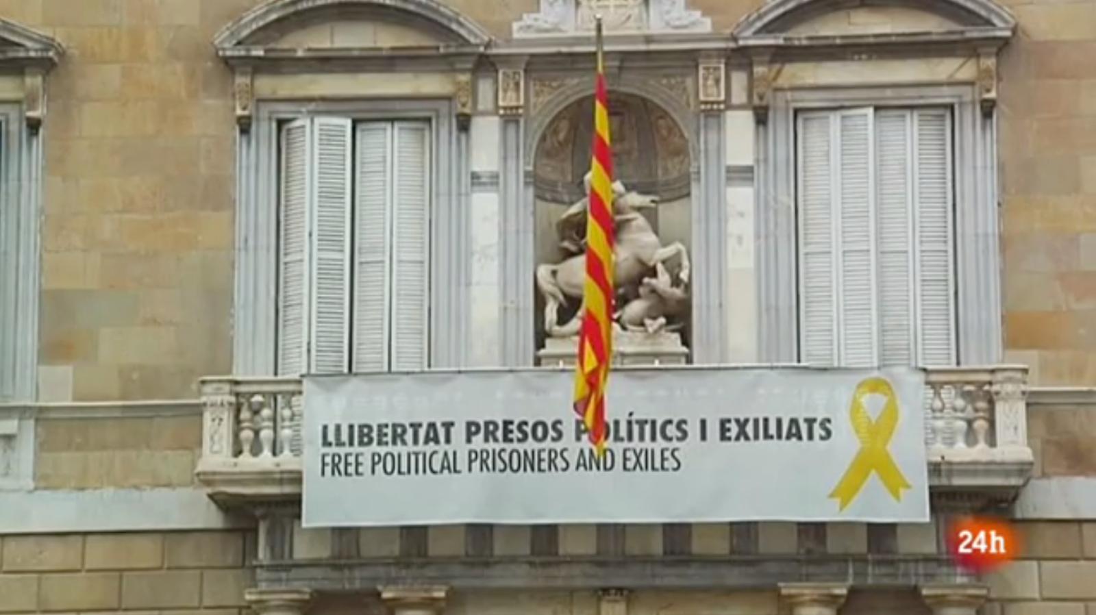 Vídeo sobre l'anàlisi del judici del procés i la polèmica amb els llaços grocs al Vespre 24 del 13/03/2019