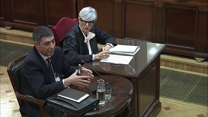"""Trapero defiende el dipositivo de los Mossos el 1-O y califica el referéndum de """"ilegal"""""""