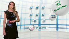 Lotería Nacional + La Primitiva + Bonoloto - 14/03/19