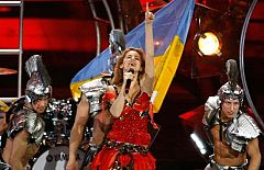Eurovisión 2009 - Actuación de Ucrania en la Final