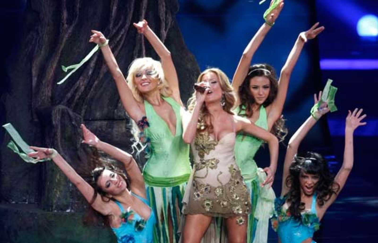 """Eurovisión 2009 - Rumanía: """"The balkan girls"""""""