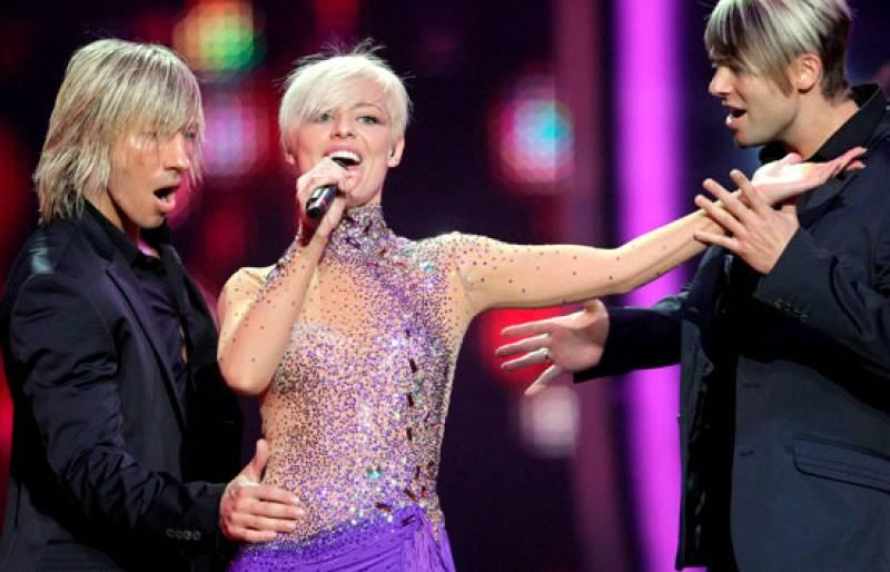 """Final de Eurovisión 2009 - España: """"La noche es para mi"""""""