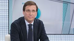Los desayunos de TVE - José Luis Martínez-Almeida, portavoz del Partido Popular en el Ayuntamiento de Madrid y candidato