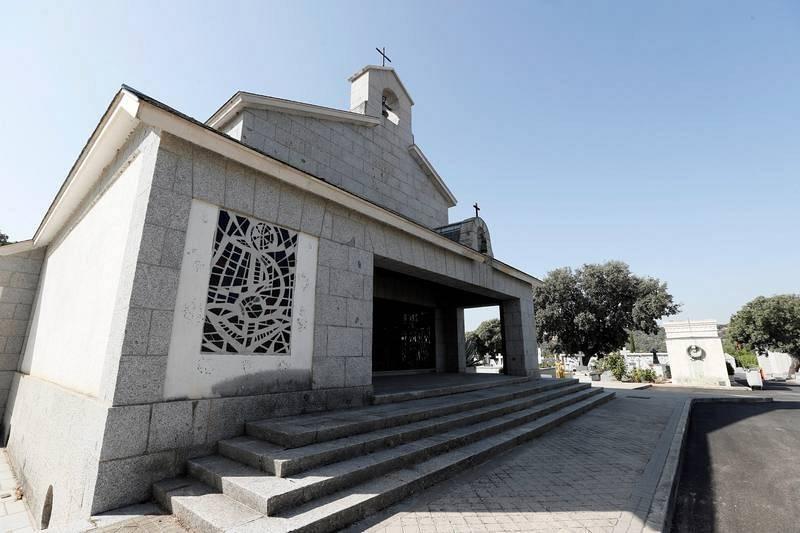 Franco será exhumado y enterrado en el cementerio del Pardo el 10 de junio