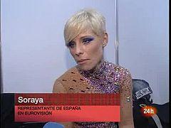 """Eurovisión 2009 - Soraya: """"Vinimos a ganar"""""""