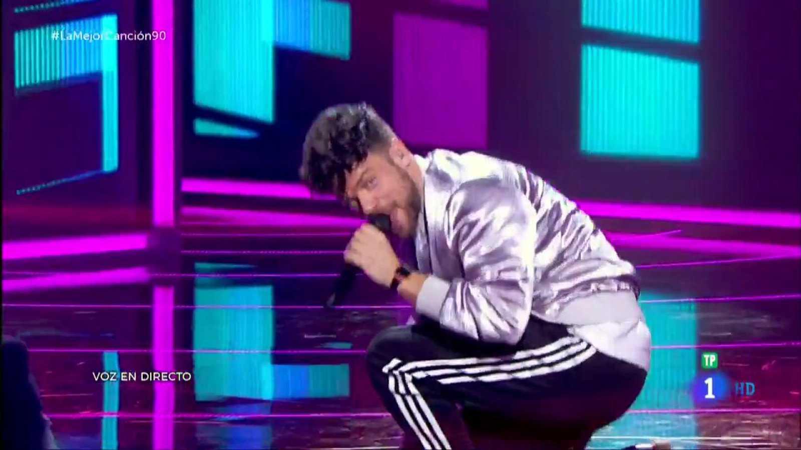Ricky Merino canta 'Wannabe' de Spice Girls
