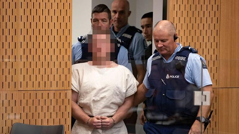 Prisión provisional sin fianza para el principal acusado de la masacre de Christchurch - Ver ahora