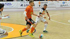 Aspil Ribera Navarra se deja marcar un gol en una demostración de 'Fair Play'