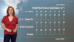 El tiempo en Canarias - 18/03/2019