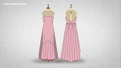 Patrones paso a paso: El vestido de Rosa en la final