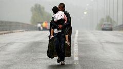 Más de 15.000 refugiados siguen esperando la entrada a Europa en Grecia