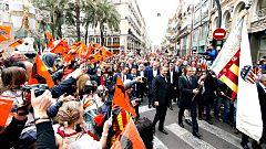 El Valencia celebra su 100 cumpleaños rodeado de sus mitos
