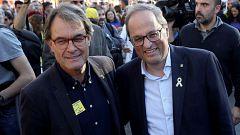 La Junta Electoral da 24 horas a Torra para retirar los lazos amarillos