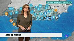 El tiempo en Andalucía - 19/03/19