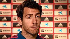 """El """"sueño cumplido"""" de Parejo con la selección en Valencia"""