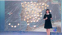 Hoy, viento fuerte en amplias zonas de la península, Baleares y Canarias