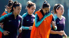 El Barça, único español en el regreso de la Champions femenina