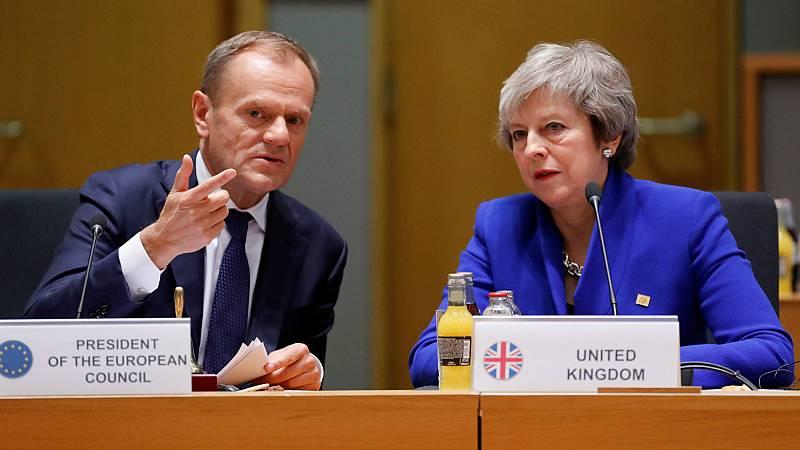 Bruselas supedita la prórroga corta del 'Brexit' a la aprobación del acuerdo de May