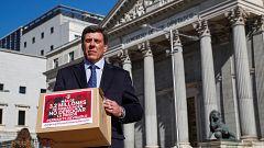 El padre de Diana Quer presenta más de 3 millones de firmas en el Congreso por la prisión permanente revisable