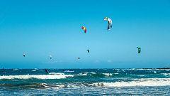 Viento fuerte en Canarias occidentales y en el Estrecho.