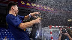 El Barca Lassa se impone claramente y se proclama campeón de liga