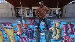 Madrid celebra el Día Mundial del Agua con una obra efímera del artista holandés Leon Keer