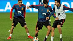 La Selección entrena en Mestalla con protagonismo valencianista
