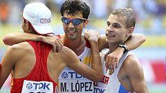 Miguel Ángel López logra la plata del Mundial de Moscú 2013