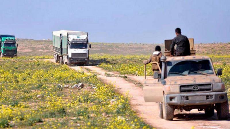 """El """"califato"""" del Estado Islámico llegó a controlar controlar 88.000 km entre Siria e Irak"""