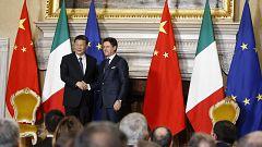 Italia firma un memorándum con China para colaborar en la 'Nueva Ruta de la Seda'