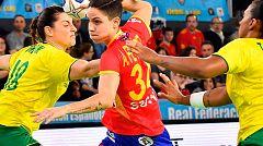 Las Guerreras ganan a Brasil y conquistan el Torneo Internacional de España